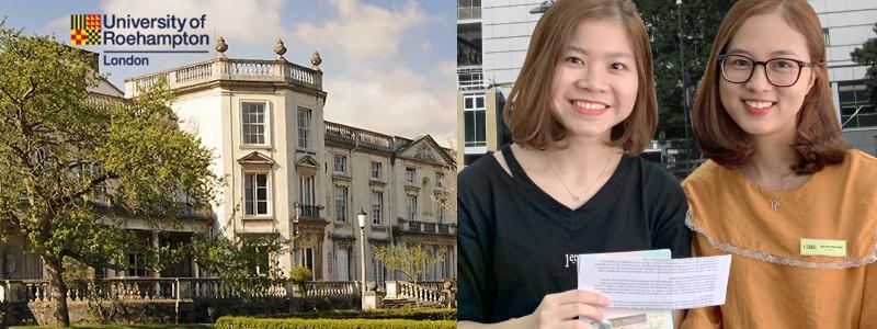 Chúc mừng Trần Lê Hương Ly đạt học bổng cao nhất của Trường đại học Roehampton