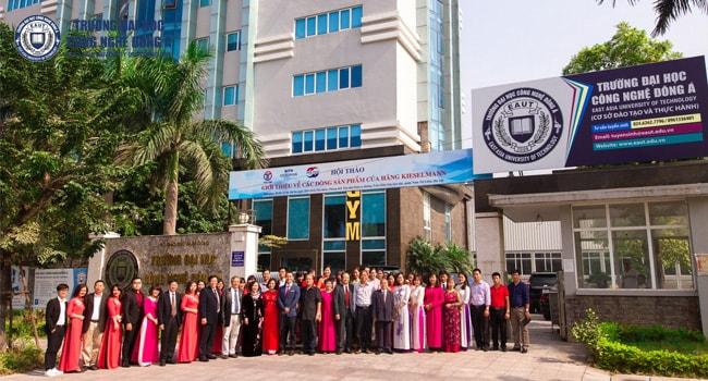 Đại học Công nghệ Đông Á xét tuyển kế toán theo học bạ