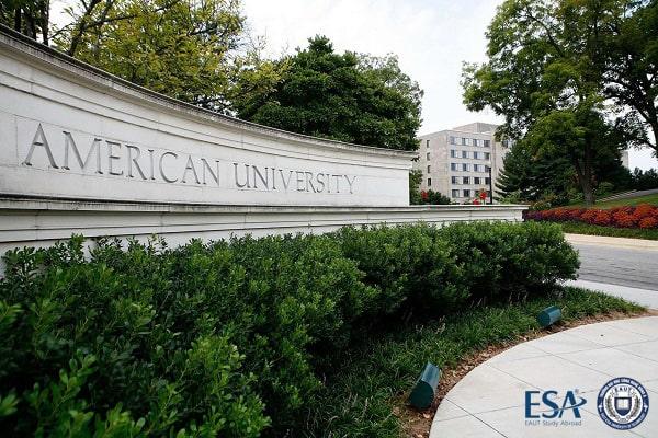 Một góc khuôn viên American University