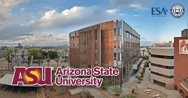 Cảnh quan tại đại học Arizona State