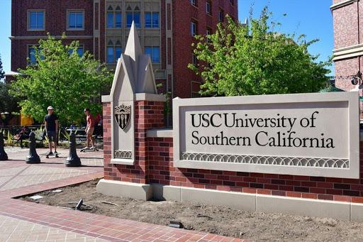 Khu vực cổng trường California Southern University