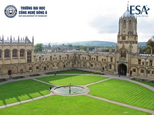 Quang cảnh đại học Oxford