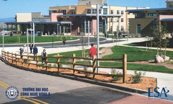 Một góc nhỏ tại Colorado State University