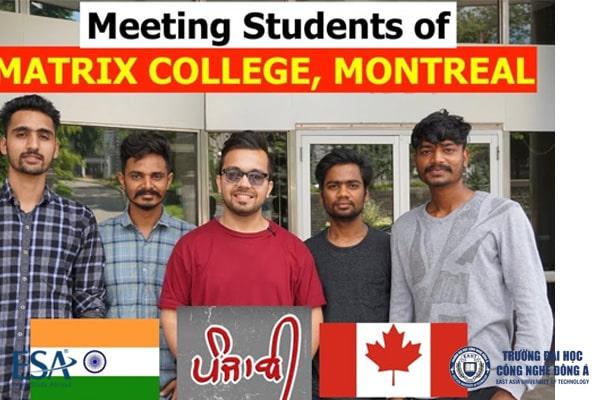 Sinh viên quốc tế tại Matrix College