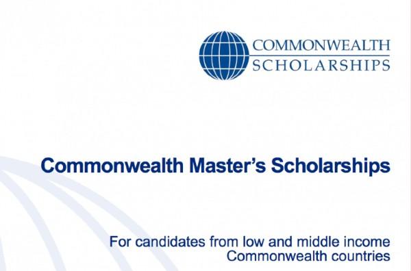 Commonwealth Masters Scholarships
