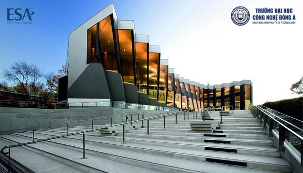Campus đẹp long lanh tại Australian National University